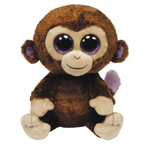 TY Beanie Boo Coconut Aap Knuffel 15cm