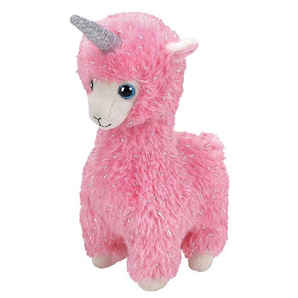 TY Beanie Boo's Alpaca-Eenhoorn Knuffel Lana 15 cm