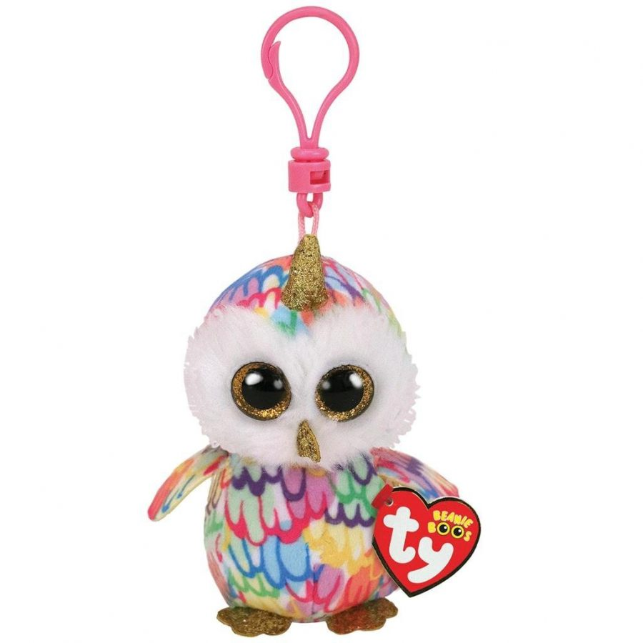 TY Beanie Boo's Clip Knuffel Uil Enchanted