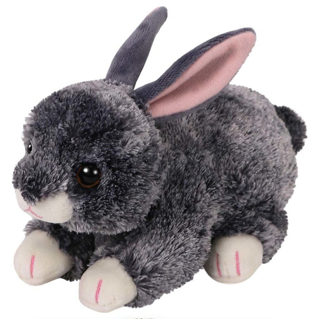 TY Beanie Boo Knuffel Konijn Smokey 15 cm