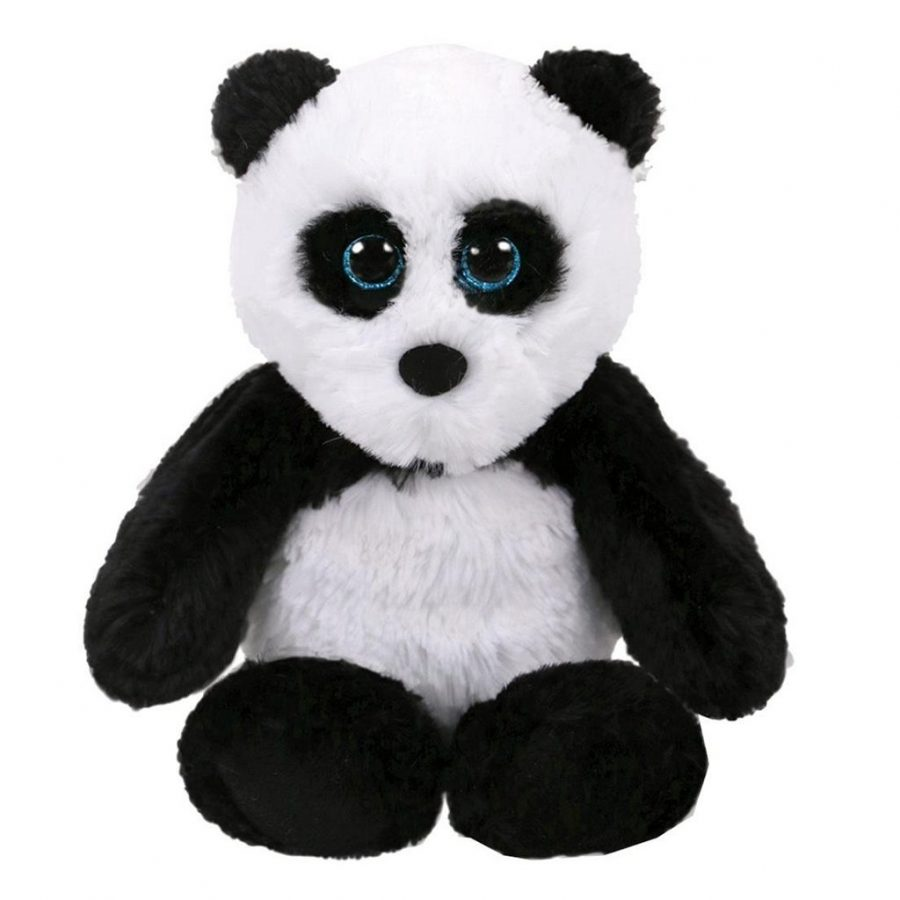 TY Attic Treasures Panda Fluff Knuffel 33 cm