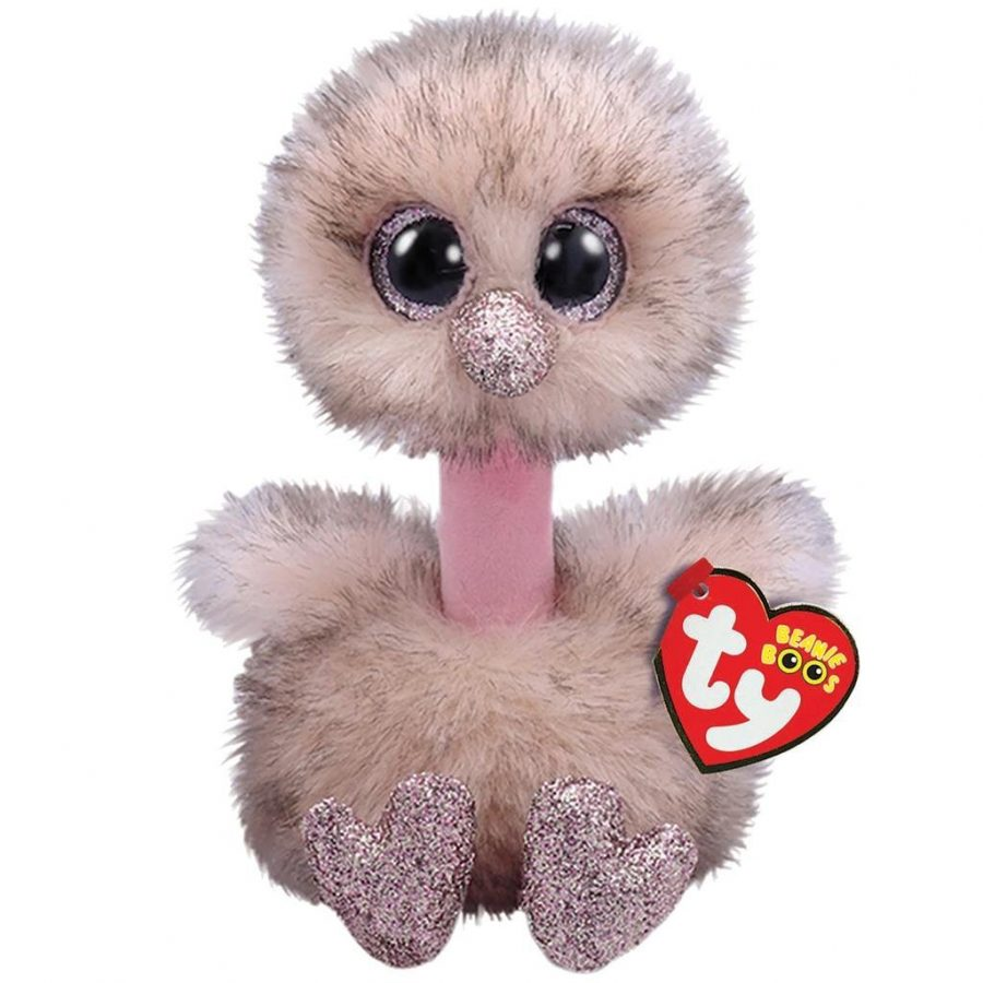 TY Beanie Boo's Struisvogel Knuffel Henna 42 cm