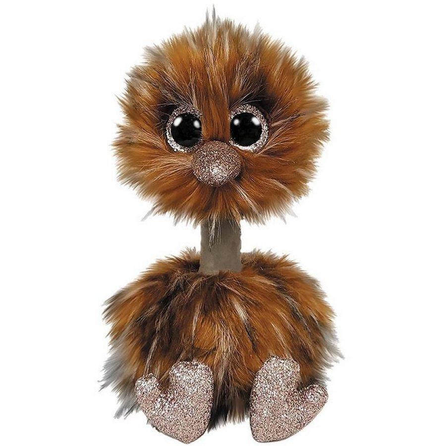 TY Beanie Boo's Struisvogel Knuffel Orson 15 cm
