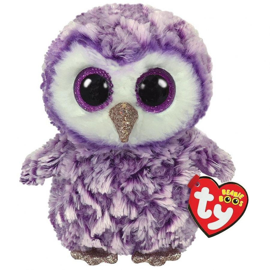 TY Beanie Boo's Knuffel Uil Moonlight 15 cm