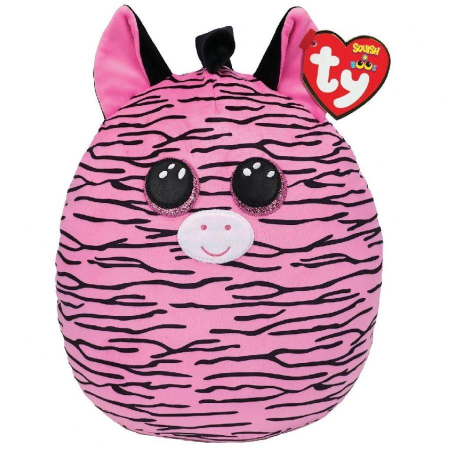 TY Squish A Boos Knuffelkussen Zebra Zoey 31 cm