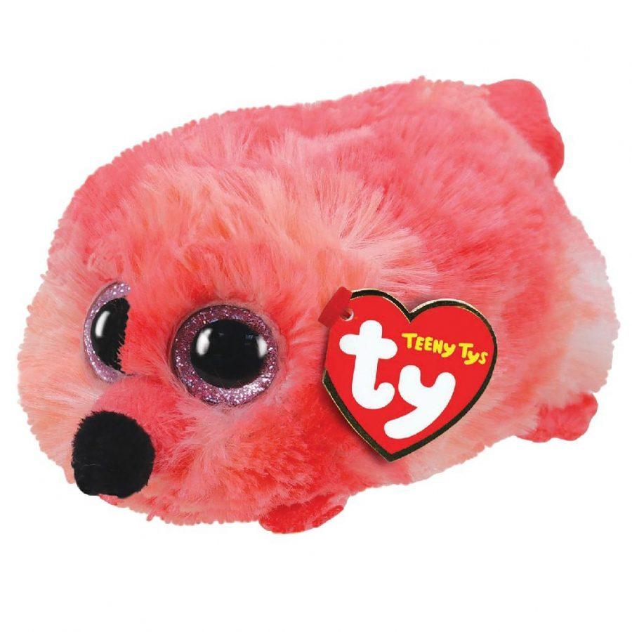 TY Teeny Tys Flamingo Knuffel Gilda 10 cm