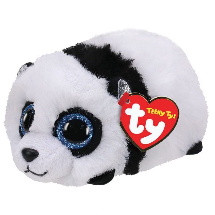 TY Teeny Tys Pandaknuffel Bamboo 10 cm